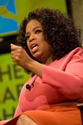 Oprah Winfrey speaks at The Cable Show 2011 at McCormick Place, Chicago, June 16, 2011