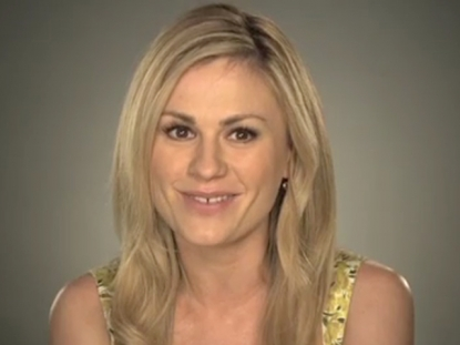"Anna Paquin records a ""True Blood""-themed PSA for HBO, June 2011"