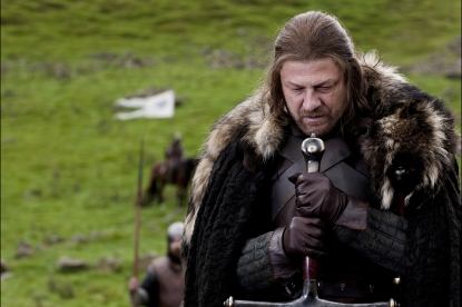 "Sean Bean as Lord Eddard ""Ned"" Stark in ""Game of Thrones,"" HBO, 2011"