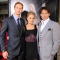 "Alexander Skarsgaard, Anna Paquin and Stephen Moyer step out at the HBO Premiere of ""True Blood"" Season 4 at ArcLight Cinemas Cinerama Dome in Hollywood, Calif. on June 21, 2011"
