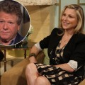 Tatum O'Neal chats with Billy Bush and Kit Hoover on Access Hollywood Live on June 22, 2011 / inset: Ryan O'Neal