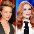 Evan Rachel Wood in June (left) and in January (right)