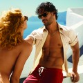 Joe Manganiello poses in Santorini, Greece, for a GQ photoshoot, July 2011