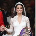 Kate Middleton glows at the Royal Wedding (Inset: Princess Beatrice)
