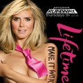 "Heidi Klum seen in an ad for ""Project Runway"" Season 9"