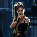 Alicia Keys performs onstage during the BET Awards '11 held at the Shrine Auditorium in Los Angeles on June 26, 2011