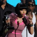 Nicki Minaj accepts the Best Female Hip Hop Artist award onstage during the BET Awards '11 held at the Shrine Auditorium in Los Angeles on June 26, 2011