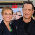 "Julia Roberts and Tom Hanks step out at the premiere of ""Larry Crowne"" at Grauman's Chinese Theatre in Hollywood, Calif. on June 27, 2011"