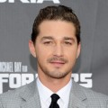 "Shia LaBeouf attends the New York premiere of ""Transformers: Dark Of The Moon"" in Times Square, New York City, on June 28, 2011"