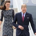 Prince William, Duke of Cambridge and Catherine, Duchess of Cambridge arrive at Macdonald-Cartier International Airport on June 30, 2011 in Ottawa, Canada