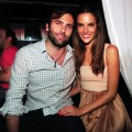Alessandra Ambrosio is joined by fiance Jamie Mazur as she hosts the second annual Follow the Sun summer party at East Hampton's SL East, New York, July 3, 2011