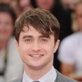 Daniel Radcliffe attends the world premiere of &#8220;Harry Potter and The Deathly Hallows - Part 2&#8221; at Trafalgar Square, London, on July 7, 2011