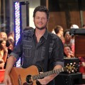 "Blake Shelton performs on NBC's ""Today"" in Rockefeller Center, New York City, on July 8, 2011"