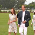 Catherine, Duchess of Cambridge and Prince William, Duke of Cambridge arrive at The Foundation Polo Challenge sponsored by Audi at the Santa Barbara Polo & Racquet Club in Santa Barbara, Calif., on July 9, 2011