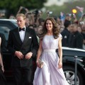 Catherine, Duchess of Cambridge and Prince William, Duke of Cambridge arrive at the 2011 BAFTA Brits To Watch Event at the Belasco Theatre in Los Angeles on July 9, 2011