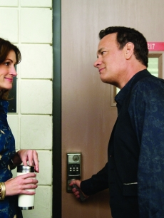 "Julia Roberts and Tom Hanks in ""Larry Crowne"""