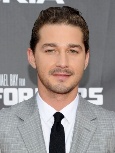 Shia LaBeouf attends the New York premiere of &#8220;Transformers: Dark Of The Moon&#8221; in Times Square, New York City, on June 28, 2011