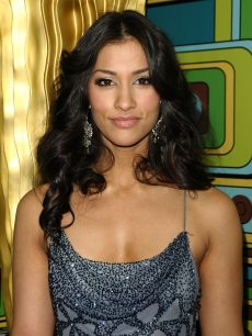 Janina Gavankar attends HBO's 68th annual Golden Globe Awards Official after party at Circa 55 Restaurant, Los Angeles, on January 16, 2011