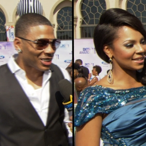 2011 BET Awards: Nelly & Ashanti Stay Mum On Their Relationship