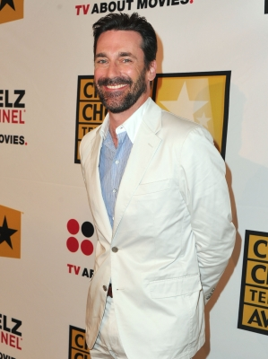 "Jon Hamm, nominated for Lead Actor in a Drama Series for ""Mad Men,"" arrives at the Critics' Choice Television Awards at the Beverly Hills Hotel in Beverly Hills, Calif., on June 20, 2011"