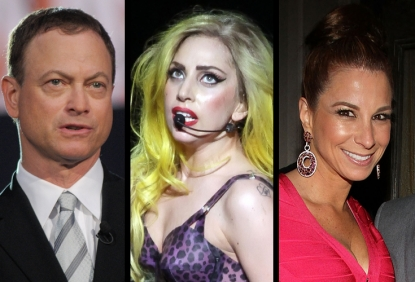 Gary Sinise, Lady Gaga, 'Real Housewives' star Jill Zarin