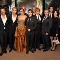 "Cast and crew of the ""Harry Potter"" series celebrate their final film at the premiere of ""Harry Potter and the Deathly Hallows — Part 2"" at Avery Fisher Hall, Lincoln Center, in New York City on July 11, 2011"
