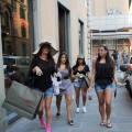 "The ladies of the ""Jersey Shore"" step out in Italy"