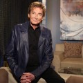 Barry Manilow visits the set of Access Hollywood Live, July 2011
