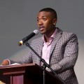 Ray J hosts the 21st Annual NAACP Theatre Awards Press Conference in Los Angeles on July 19, 2011
