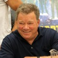 "William Shatner jokes around at the ""Shatnerpalooza"" press conference during Comic-Con 2011 in San Diego, Calif. on July 22, 2011"