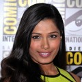 Freida Pinto attends &#8216;Immortals&#8217; Press Line during Comic-Con 2011 in San Diego, Calif., on July 23, 2011