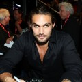 Jason Momoa attends a &#8220;Conan the Barbarian&#8221; autograph signing during Comic-Con 2011, San Diego, on July 22, 2011 