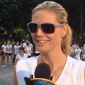 Heidi Klum Races To Get Healthy (July 22, 2011)