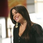 Sofia Vergara portrays Gloria Delgado-Pritchett in a scene from the comedy series &#8220;Modern Family.&#8221; 