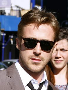"Ryan Gosling stops by the set of the ""Tonight Show with David Letterman"" in New York City on July 13, 2011"