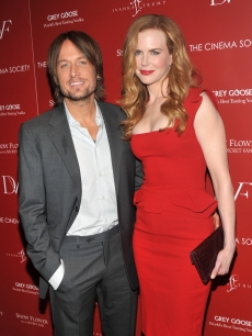 "Keith Urban and Nicole Kidman attend the Cinema Society with Ivanka Trump Jewelry & Diane Von Furstenberg screening of ""Snow Flower And The Secret Fan"" at the Tribeca Grand Hotel, NYC, on July 13, 2011"