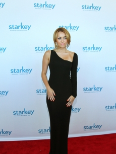 "Miley Cyrus attends the Starkey Hearing Foundation's ""So The World May Hear Awards Gala"" at River Centre in St. Paul, Minnesota on July 24, 2011"