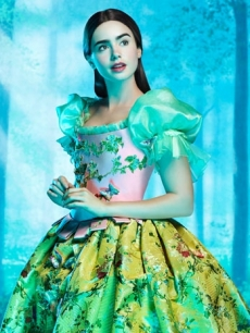 "Lily Collins as Snow White in ""The Brothers Grimm: Snow White"""