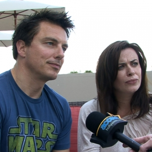 Comic-Con 2011: John Barrowman &amp; Eve Myles Have A &#8216;Tough&#8217; Time On &#8216;Torchwood&#8217;