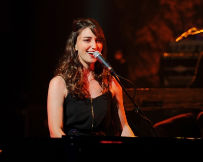Sara Bareilles performs at Revolution, Fourt Lauderdale, on October 11, 2010