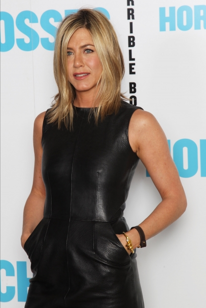 "Jennifer Aniston is seen at a photocall for ""Horrible Bosses"" at The Dorchester in London on July 20, 2011"