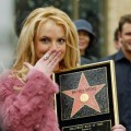 Britney gets her star on the Walk of Fame, Nov. 2003