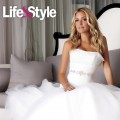 Kristin Cavallari seen in a wedding gown photo shoot for Life & Style in July 2011