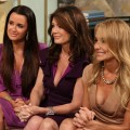 &#8220;The Real Housewives of Beverly Hills&#8221; stars Kyle Richards, Lisa Vanderpump and Taylor Armstrong stop by Access Hollywood Live on July 27, 2011