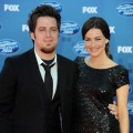 Lee DeWyze and Jonna Walsh arrive at FOX&#8217;s &#8220;American Idol&#8221; season 10 finale results show held at Nokia Theatre LA Live in Los Angeles on May 25, 2011