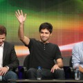 Kevin Connolly, Adrian Grenier and Jerry Ferrara speak during the &#8220;Entourage&#8221; panel during the HBO portion of the 2011 Summer TCA Tour held at the Beverly Hilton on July 28, 2011
