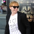 "Rupert Grint steps out at the premiere of ""Rise of the Planet of the Apes"" at Grauman's Chinese Theatre in Los Angeles, Calif. on July 28, 2011"