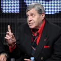 "Jerry Lewis speaks during ""The Method to the Madness of Jerry Lewis"" panel during the Encore portion of the 2011 Summer TCA Tour held at the Beverly Hilton Hotel, Beverly Hills on July 28, 2011"