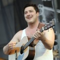 Marcus Mumford of Mumford & Sons performs at Day Three of the Bonnaroo Music And Arts Festival in Manchester, Tennessee on June 11, 2011