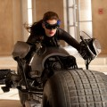 Anne Hathaway as Selena Kyle, the alter-ego of Catwoman, in 'The Dark Knight Rises'